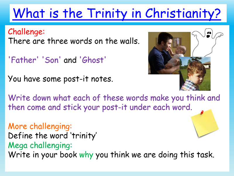 Agapegeek Teachings On The Trinity: The Trinity: Christianity By EC_Resources