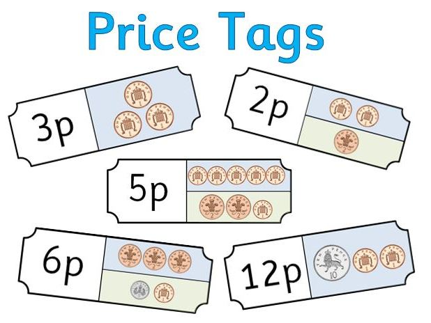 Price Tags for Role Play Shop - Coins and Money - Editable | Teaching  Resources