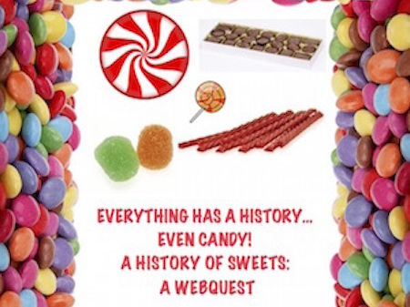 History of Candy! A Webquest