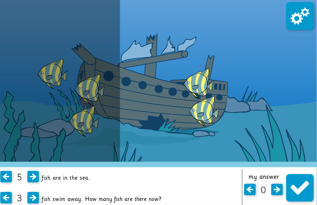 Subtraction Stories Interactive Activity - KS1 Number