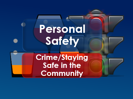 PSHE: Citizenship: Personal Safety in the Community