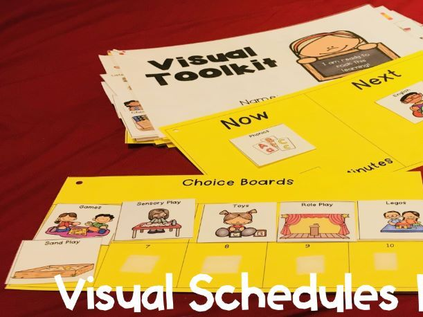 Visual Schedules Pack