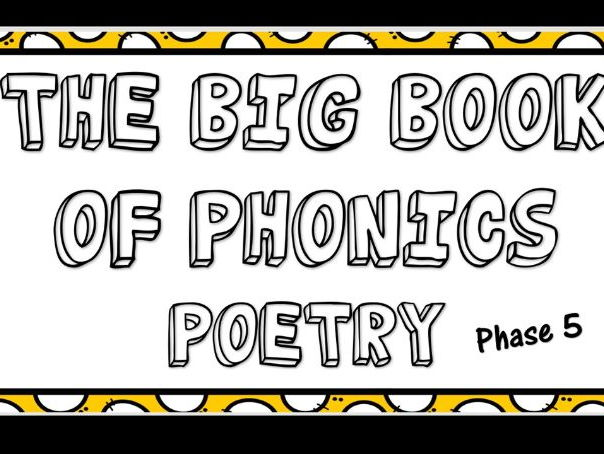 Phonics Screening Poetry -Phase 5