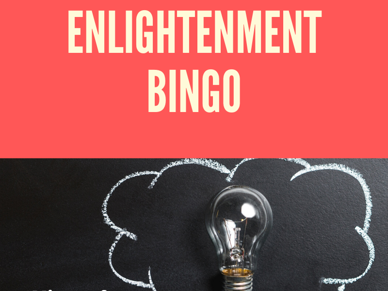 Enlightenment Bingo