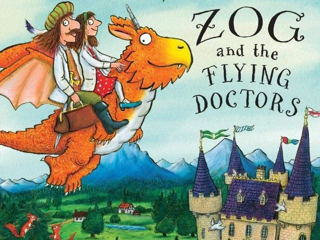 Zog the flying doctor Literacy plan