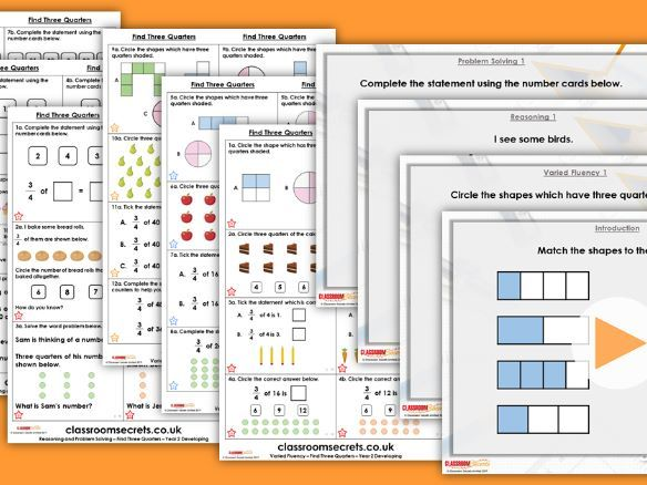 Year 1/2 Mixed Age Spring Block 2 Step 11 Maths Lesson Pack