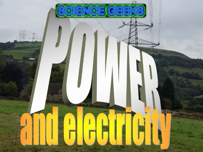 POWER AND ELECTRICITY CALCULATIONS