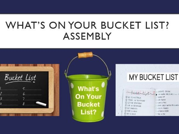 Bucket List Assembly