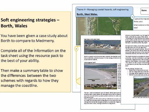 Soft engineering Borth Case study with Exam homework
