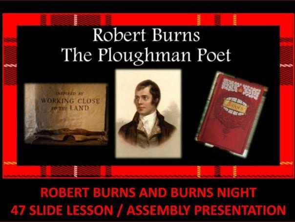 Robert Burns: The Bard of Scotland - Assembly Presentation