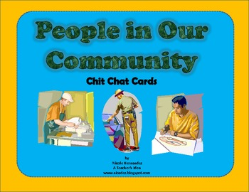 Community Helpers -  {Chit Chat Cards}