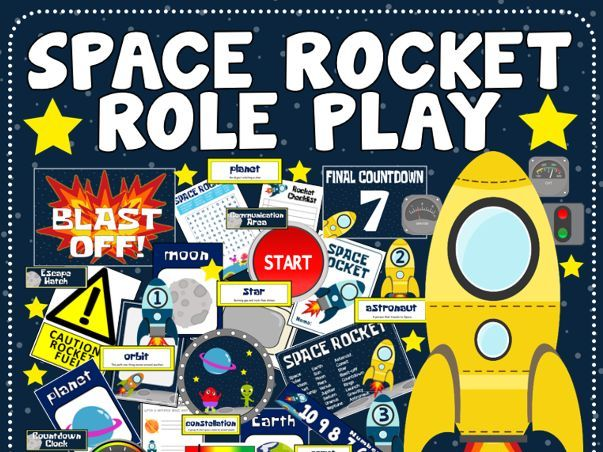 SPACE ROCKET ROLE PLAY