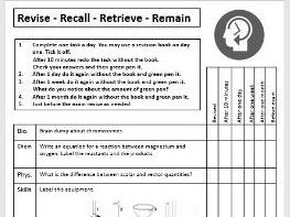 GCSE AQA Combined science retrieval 41 pages