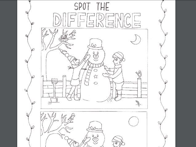 Christmas Activity Booklet KS1/LKS2