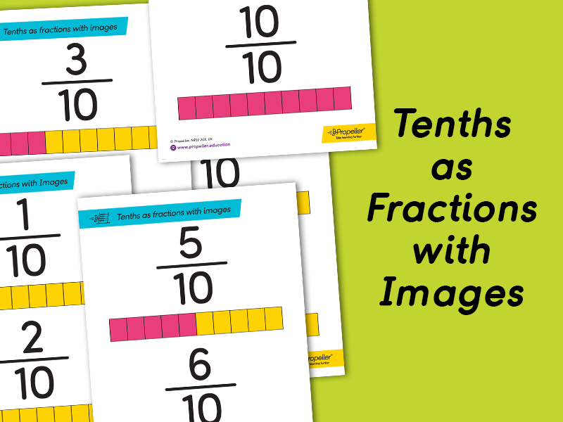 Counting in Tenths with Images | KS2 FRACTIONS AND DISPLAYS