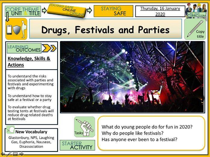 Drugs - Festivals Parties and Nitrous Oxide