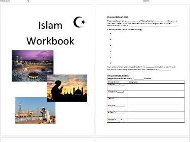 AQA GCSE RE Islam workbook