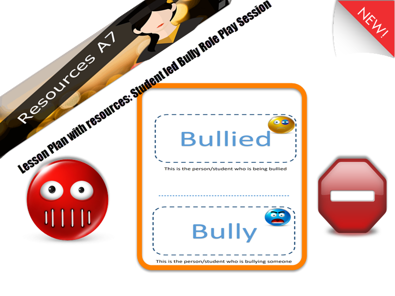 Lesson -  Resources for Student Led - Anti-Bullying Role Play and Reflection KS1-5