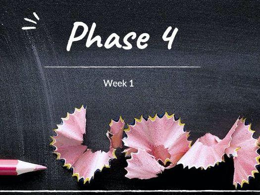 Phase 4 Phonics 2 Weeks Unit