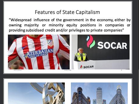 Global Politics: State Capitalism