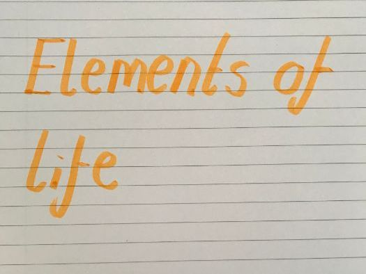 A level chemistry (OCR B) - Elements of life notes