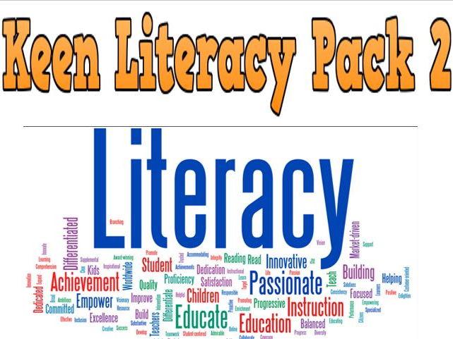 Keen Literacy Pack 2