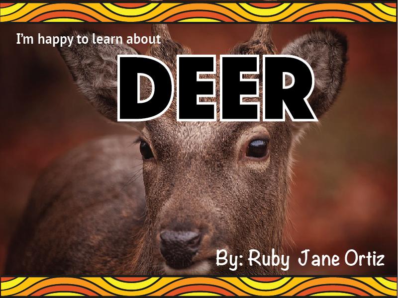 Deer Nonfiction Unit