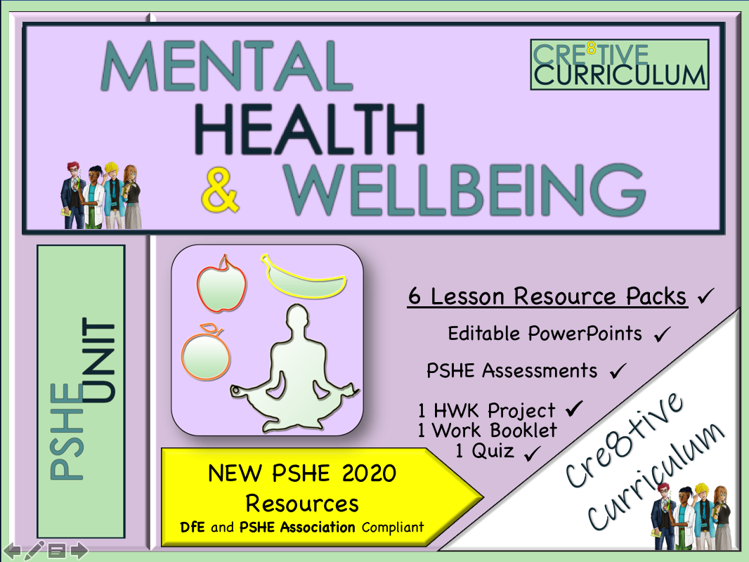 Mental Health & Wellbeing PSHE Unit