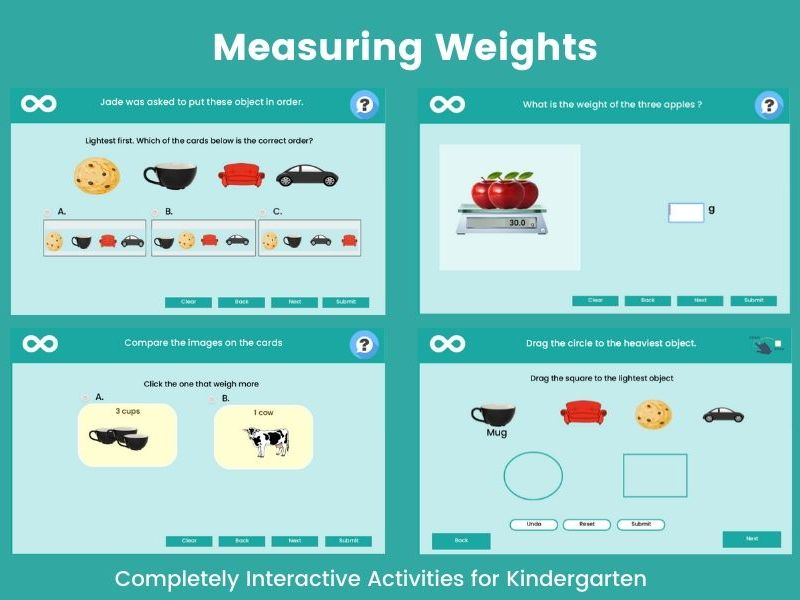 Measuring Weights - Year 1