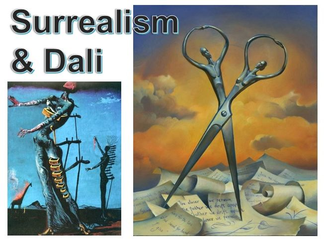 Surrealism Art and Salvador Dali (5 lessons and 2 homeworks)