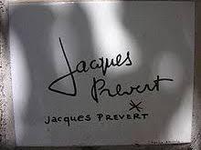 Tout s'en allait de Jacques Prévert