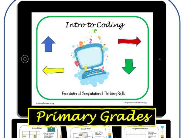 Learn to Code - Primary Grades Unit - Digital Resource