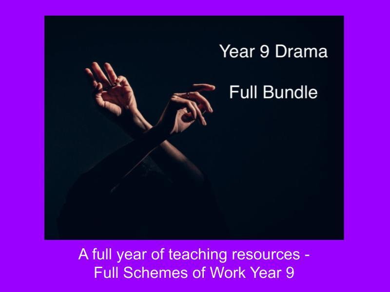 Year 9 Bundle