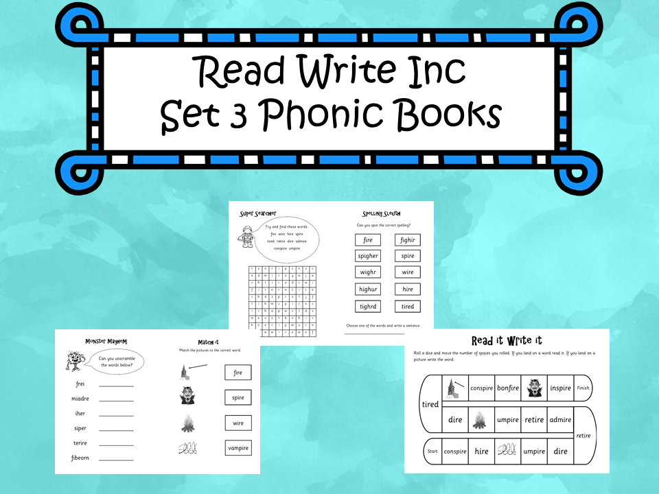 Read Write Inc Set 3 - Phonic Books