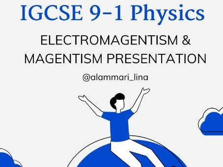 IGCSE physics electromagnetism and magnetism full unit presentation