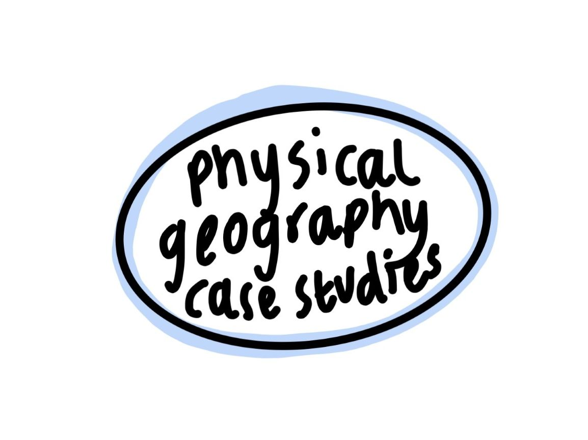 ALL A LEVEL PHSYICAL GEOGRAPHY CASE STUDIES