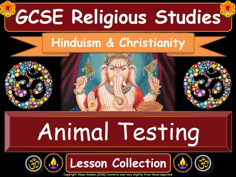 Animal Testing & Animal Ethics - Hinduism & Christianity (GCSE Lesson Pack)