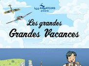 English questions for Episode 1 of Les grandes, grandes vacances