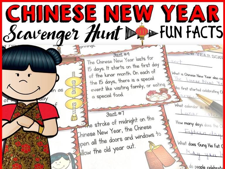 chinese new year fun facts essay Chinese new year: chinese new year, annual 15-day chinese festival that begins with the new moon that occurs between january 21 and february 20.