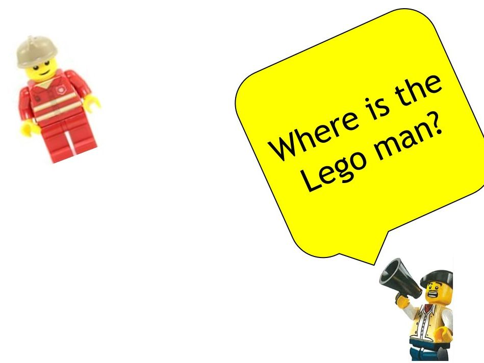 Lego Club Prepositions
