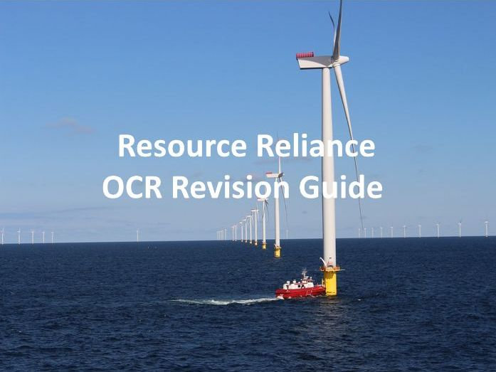 Resource Reliance - Revision Guide OCR