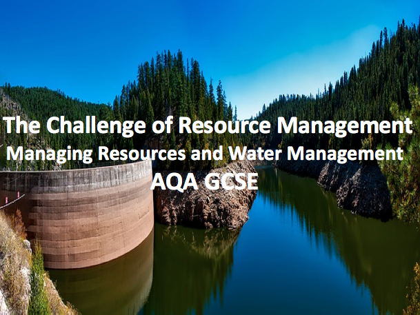 The Challenge of Resource Management - Resource and Water Management