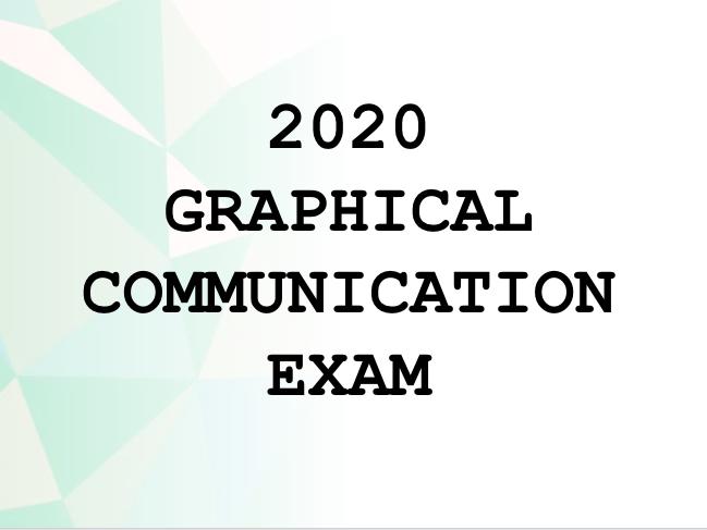 2020 AQA Art Graphics EXAM prep UPDATE