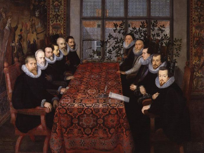 *Updated* Elizabeth I's Government and Privy Council - Cecil, Walsingham, Dudley and Hatton