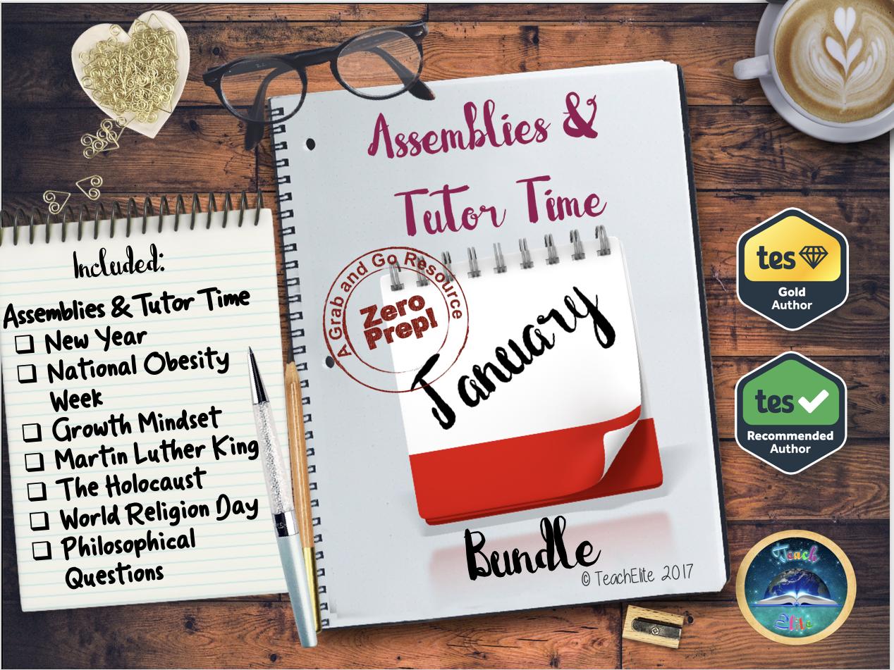 Assembly & Tutor Time - January