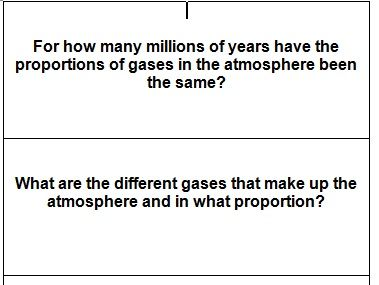 Revision flash cards for AQA Trilogy Chemistry paper 2
