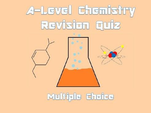 A-Level Chemistry Revision Quiz