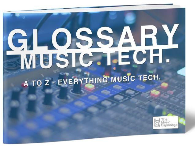 Glossary of Music Tech. – FULL e-Book + Presentation