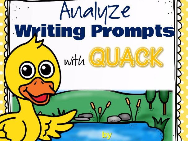 Analyse Writing Prompts with QUACK
