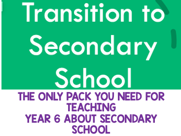 Transition to Secondary School Resource Pack